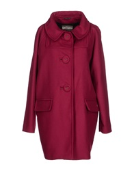 Galliano Coats Garnet
