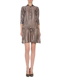 Toton Comella Tcn Short Dresses Light Grey