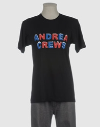 Andrea Crews Short Sleeve T Shirts Black