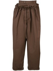 Craig Green Loose Fit Trousers Brown