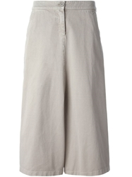 Douuod Cropped Trousers Grey