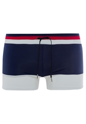 Guess Why Not Blue Swimming Shorts Cosmo Blue Dark Blue