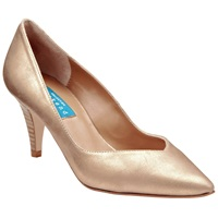 Collection Weekend By John Lewis Annecy Court Shoes Gold