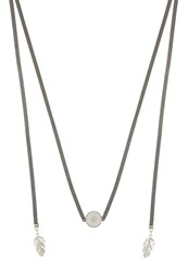 Sweet Deluxe Toma Necklace Dark Grey