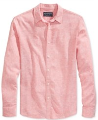 American Rag Long Sleeve Linen Shirt Only At Macy's Sunbaked Clay