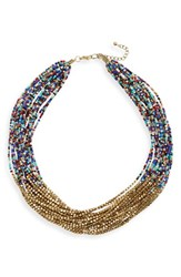 Sole Society Women's Layered Beaded Necklace