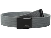 Oakley Heather Web Belt Stone Grey Men's Belts Gray