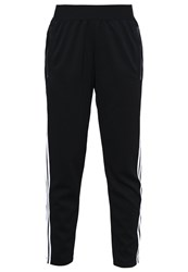 Adidas Performance 3S Tapered Pt Tracksuit Bottoms Black White