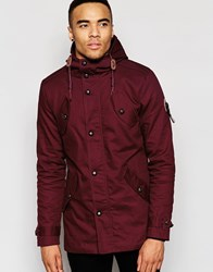 Fly 53 Burton Jacket Red