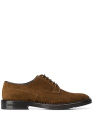 Dolce And Gabbana Classic Derby Shoes Brown