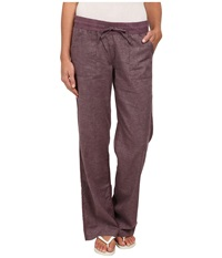 Prana Mantra Pant Passion Plum Women's Casual Pants Burgundy