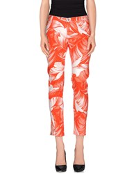 Armani Jeans Trousers Casual Trousers Women Coral