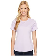 Columbia Pfg Zero Ii Short Sleeve Shirt Phantom Purple Women's Short Sleeve Pullover