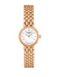 Tissot Ladies Lovely Quartz Movement Sapphire Crystal Watch Rose Gold