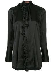 Maggie Marilyn Classic Pussybow Blouse Black