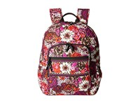 Vera Bradley Campus Backpack Rosewood Backpack Bags Red