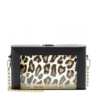 Charlotte Olympia Astaire Clutch Black