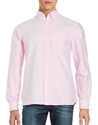 Brooks Brothers Oxford Sportshirt Pink