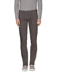 Tru Trussardi Trousers Casual Trousers Men Grey