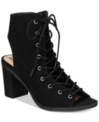 American Rag Savanah Lace Up Sandals Only At Macy's Women's Shoes Black