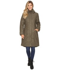 Nau Prato Wool Down Trench Surplus Heather Coat Olive