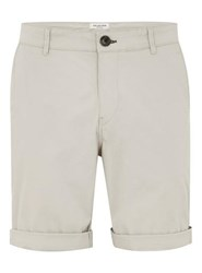 Selected Brown Homme Beige Chino Shorts