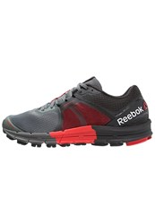 Reebok One Guide 3.0 Stabilty Running Shoes Red Grey Alloy Coal