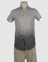 Original Vintage Style Short Sleeve Shirts Light Grey