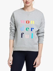 Boden Arabella Wonderful Sweatshirt Grey