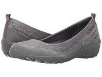 Skechers Active Savvy Dressed Up Grey Women's Slip On Dress Shoes Gray
