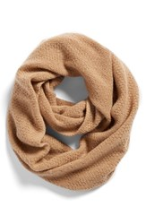 Women's Halogen Pointelle Knit Wool And Cashmere Infinity Scarf