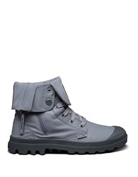Palladium Baggy Zip On Ankle Boots Grey