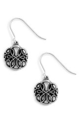 Alex And Ani Path Of Life Drop Earrings Silver