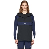 Nike Black And Navy Re Issue Jacket