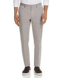 Michael Kors Stretch Cotton Slim Fit Trousers 100 Exclusive Rock Gray