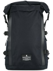 Makavelic Chase Cyclist Backpack Polyester Blue