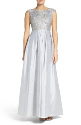 Aidan Mattox Women's Beaded Ballgown