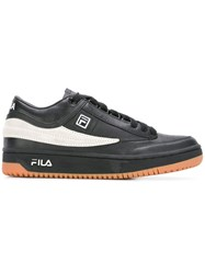 Fila Lace Up Trainers Black