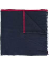 Loro Piana Roadster Scarf Blue