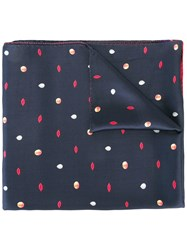 Paul Smith 'Characters' Print Scarf Black