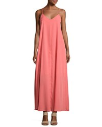 Lucca Couture Maxi Swing Dress Coral