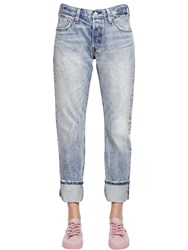 Levi's 501 Classic Selvedge Cotton Denim Jeans