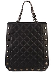 Thomas Wylde Quilted Shopper Tote Black