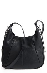 Frye Jacqui Leather Crossbody Bag Black