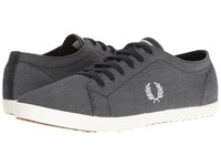 Fred Perry Kingston Chambray Navy Dolphin Men's Shoes Gray