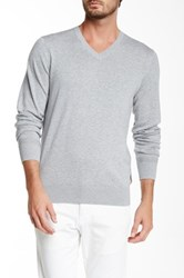 Ben Sherman The V Neck Sweater Metallic
