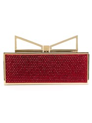 Sara Battaglia 'Lady Me Red Carpet' Clutch Black