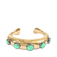 Aurelie Bidermann Untitled Cuff With Turquoise