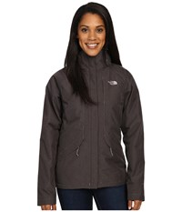 The North Face Inlux Insulated Jacket Rabbit Grey Heather Women's Jacket Gray