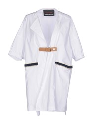 Collection Privee Overcoats White